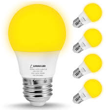 Led Yellow Bug Light Details About Lohas Bug Light Bulb Yellow Led Bulbs Outdoor Porch Lights Non Dimmable 2000k
