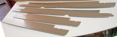 chevy wire harness door sill covers dr ga steel