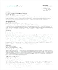 Graphic Designer Resume Example Sample Graphic Designer Resume