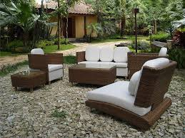 outdoor modern patio furniture modern outdoor. Exteriors:Graceful Modern Patio Furniture Sets For Small Garden Ideas With Brown Wicker Sofa Using Outdoor E