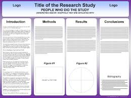 Folding Poster Template Tri Fold Poster Template Postersession