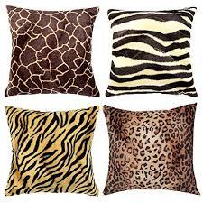 Leopard Print Pillows Decorative