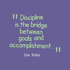 Jim Rohn Quote About Discipline