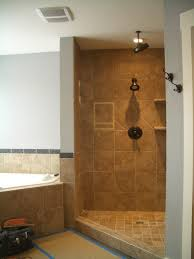 Travertine Bathroom Cozy Picture Of Bathroom Decoration Using Steel Framed Sliding