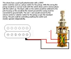 phase switch guitar mod peter green mod phase switch using dpdt pot