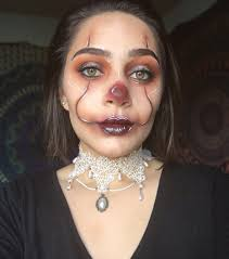it glam pennywise makeup look