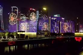 China Light Unsustainable Living How Crazy Light Shows Are Damaging
