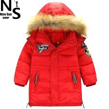 winter coats on clearance jacket top new children clothing baby boys down jackets for with hooded