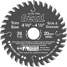freud saw blades. 4 3/8 in. trim saw blade - 36 teeth freud blades
