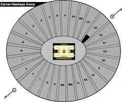 Hawkeye Football Seating Chart Carver Hawkeye Arena Iowa Wcfcourier Com