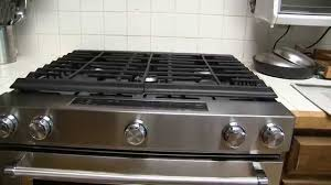 kitchenaid 5 8 cu ft gas range with convection oven model ksgg700ess you