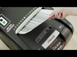 <b>Rexel Auto+ 200X</b> Cross Cut Shredder - YouTube