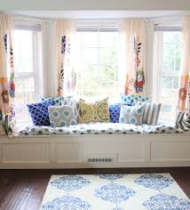 Exciting Curtains For Bay Windows With Window Seat 96 On Best Interior  Design with Curtains For Bay Windows With Window Seat