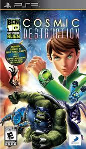 ben 10 ultimate alien cosmic destruction
