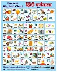 Navneet Big Wall Chart Hindi Varnamala Online In India Buy At Best Price From Firstcry Com 311190