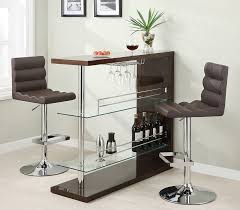 collection 100166 bar height dining table set inside designs 16