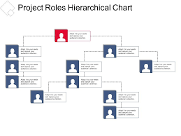Project Roles Hierarchical Chart Presentation Portfolio