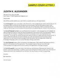 Lofty Inspiration Cover Letter First Paragraph 4 Of Sales