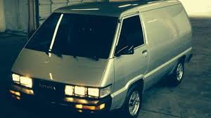 For just $7,900, this Toyota Van has a factory icemaker | Autoweek