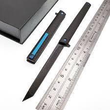 <b>JSSQ Folding Knife</b> Austrian M390 Powder Steel Blade Carbon fiber ...