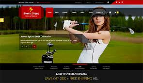 Baseball Websites Templates Inspiring Retail Website Templates Aka Shopping Sites Smashing Buzz