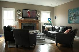 living room awesome furniture layout. Contemporary Living Room Furniture Arrangement With Dark Grey Rug And Small Table Awesome Layout