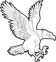 Small Picture Free Printable Bald Eagle Coloring Page for Kids 1