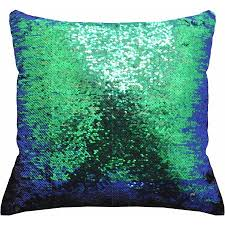 Mainstays Reversible 17?x 17? <b>Sequin</b> Sparkle Pillow - Walmart.com