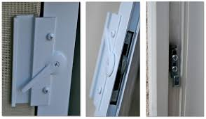 image of sliding patio door hardware