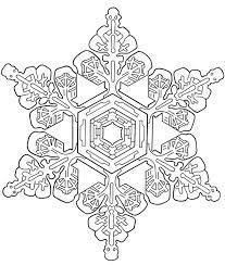 Snowflake Mandala Coloring Pages Coloring For Kids Snowflake