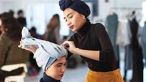 Image result for yuna NYFW