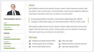 next vcard resume wordpress theme   wpexplorervcard about png