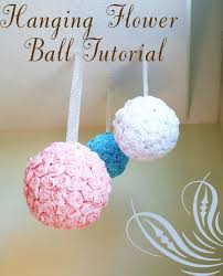 Hanging Paper Flower Balls Hanging Flower Balls Young Ladies Tea Ideas Paper Flower