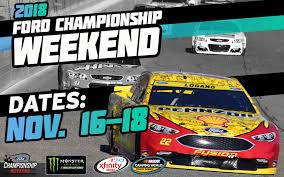 2018 ford nascar. unique 2018 2018 ford championship weekend to be held november 1618 at homesteadmiami  speedway inside ford nascar