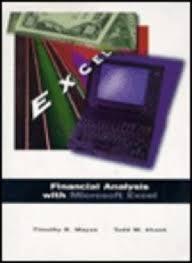 Financial Analysis Of Microsoft 9780030155024 Financial Analysis With Microsoft Abebooks Mayes