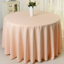 get ations bluestar champagne color orange green black feather wedding round tablecloth hotel tablecloth plain solid color coffee
