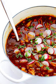 this posole rojo recipe is a delicious mexican pork stew slow simmered with the most