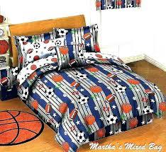 sport bedding sets basketball