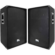 seismic audio pro audio speaker equipment pa speakers dj gear pa speakers
