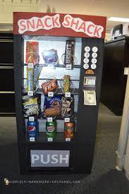 Diy Vending Machine Costume Amazing Snack Shack Vending Machine Costume