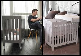 ... For Baby Cribs For Small Rooms Nice Ideas Rectangular Shape Perfect  Finishing Sample White Wooden ...