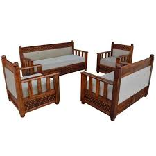 8 seater wooden sofa set at rs 28000