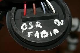 skoda fabia mk2 o s r driver side rear light wiring loom skoda fabia mk2 osr driver side rear light wiring loom