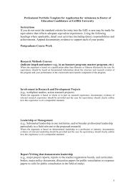Research Portfolio Template This Professional Portfolio