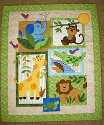 reserved for Linda - Blake's Jungle - quilt pattern & The little jungle quilt that I've been working on is finally finished,  labeled Adamdwight.com