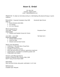 Maintenance Resume Objective Examples Resume For Study