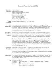 Lpn Resume Objective Examples Example Of Resume Resume Objective Lpn