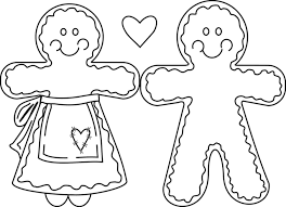 cute gingerbread man coloring pages. Fine Pages A Cute Little Decorated Gingerbread House With A Man Standing  At The Doorway Description In Cute Gingerbread Man Coloring Pages