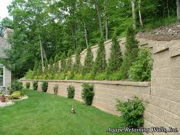 retaining wall terrace al 2