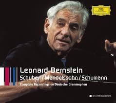 Schubert / Mendelssohn / <b>Schumann — Leonard Bernstein</b> ...